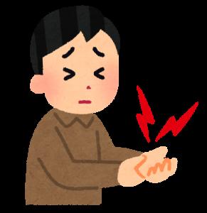 尼崎 パーソナルケア 鍼灸 整体 手首 痛み
